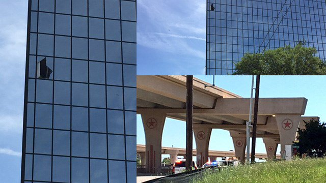 Employees evacuated after shooting at Dallas office building
