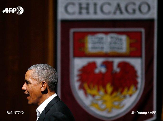 La nouvelle mission de Barack Obama: faire émerger une nouvelle génération de leaders politiques https://t.co/Qawh0xVdM6 #AFP