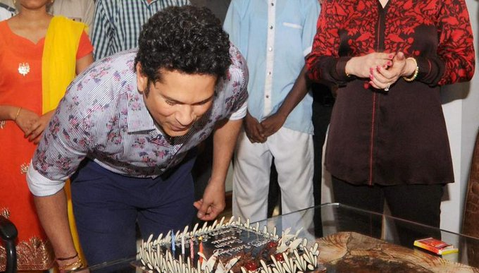Happy birthday to sachin tendulkar.. .. ... .....