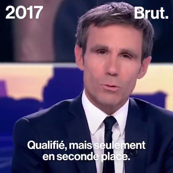 Les réactions à l'annonce du Front National au second tour :  2002 vs 2017.