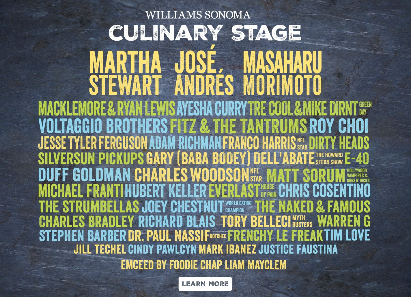 BottleRock Napa Valley Announces 2017 Williams Sonoma Culinary Stage Lineup: https://t.co/wYKslMq7iO @BottleRockNapa https://t.co/ajTLOXFhkR