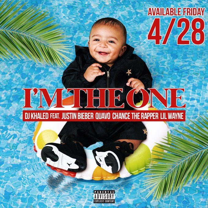🚨BREAKING NEWS🚨Dj Khaled 'I'm The One' FT @justinbieber @QuavoStuntin @chancetherapper &  wil@LilTunechil be available everywhere Friday!