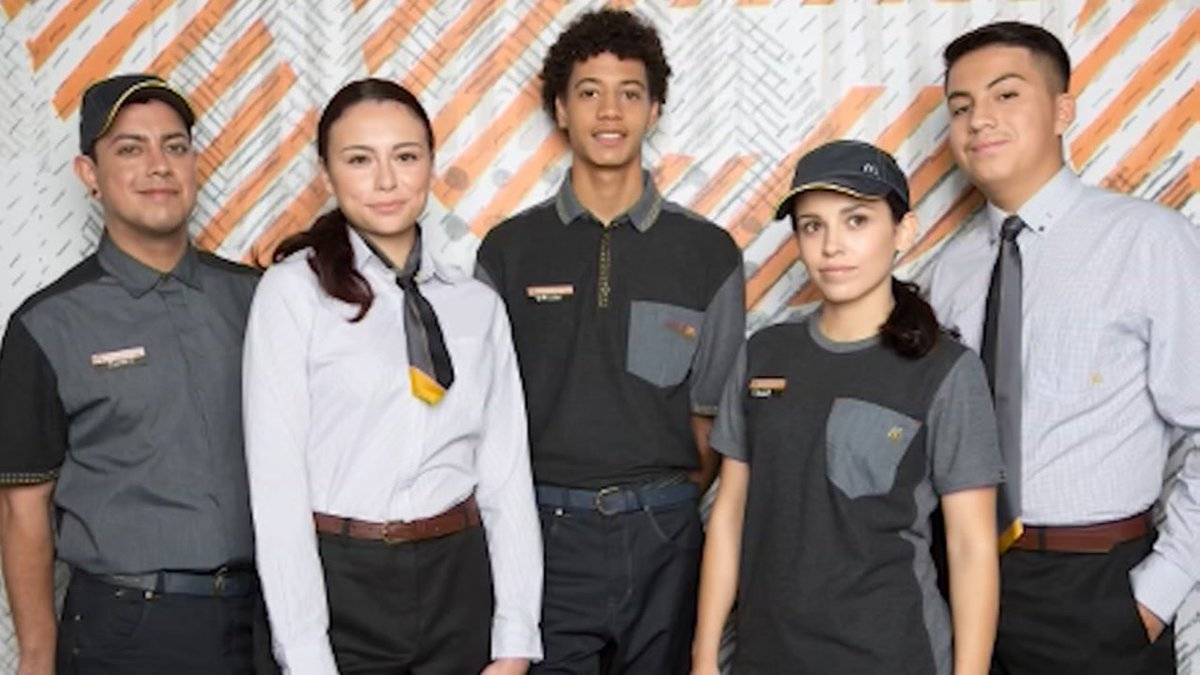 They look plucked from a galaxy far, far, away, but @McDonalds new employee uniforms are real!  https://t.co/XC7oINmAYo #StarWars