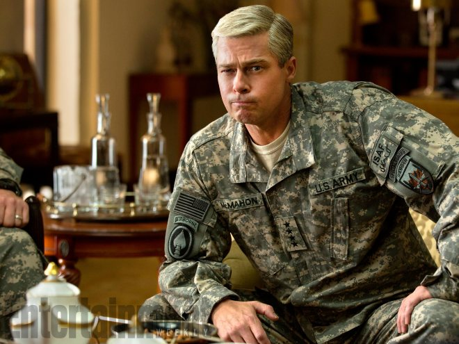 "Director David Michôd talks his new ""batsh-- crazy"" film WarMachine, starring Brad Pitt:"