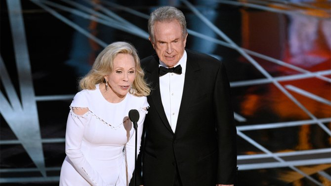 "Faye Dunaway felt ""very guilty"" about Best Picture mistake at the Oscars"