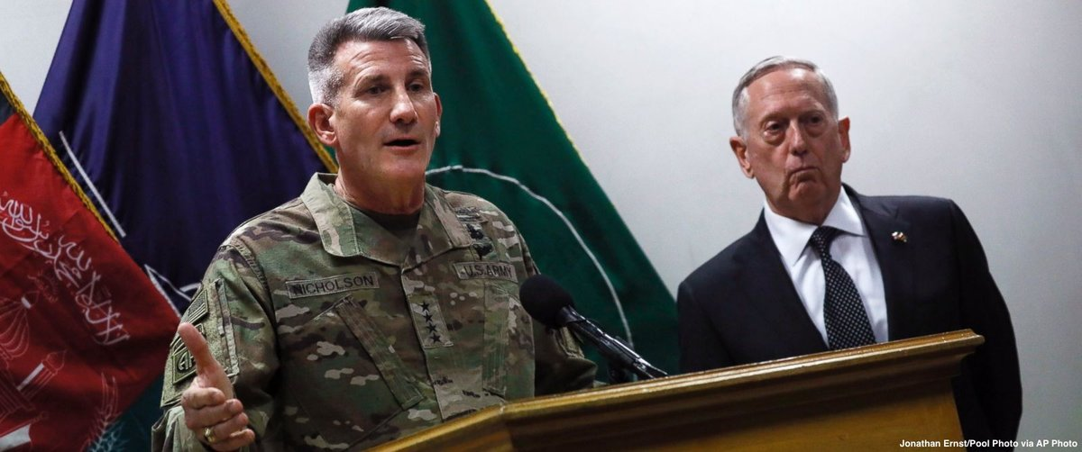 Russia believed to be source of an influx of weapons to the Taliban, U.S. commander in Afghanistan says https://t.co/Et3aC1kgbc