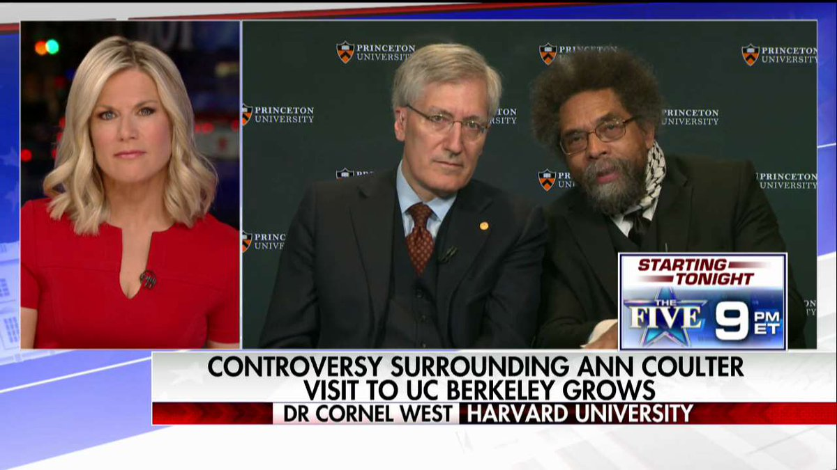 .@CornelWest on free speech on college campuses: 'There's a long history of repressing dissenting voices on the left as well as the right.'