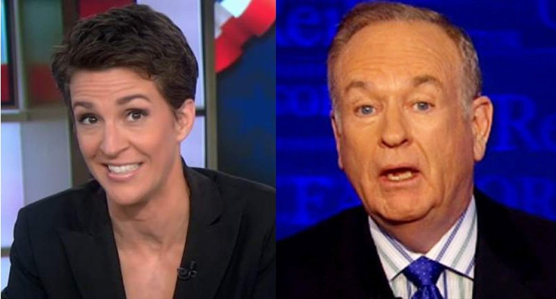 Maddow ratings surge against Fox in the Trump era as O'Reilly is booted from the network https://t.co/KjY7GBq601