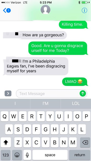 #Philly Fans 🐝 like..... 🏈😔📱📲😂 @SextPanther https://t.co/HYnDw30SSP