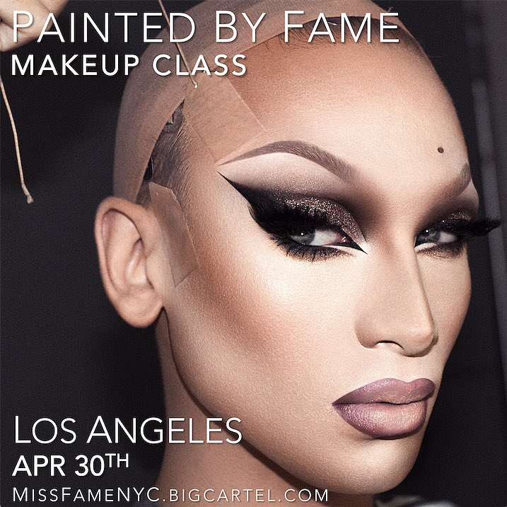 RT @Alaska5000: I'm. Going. To. Be. Painted. By. Fame. @MissFameNYC https://t.co/NSTYXNGXKx https://t.co/vY9C8mmgGN
