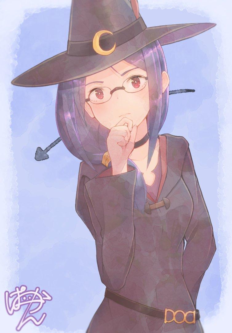 #リトルウィッチアカデミア より、アーシュラ先生描きました~あんまりにてない...かも💦#LWA_jp