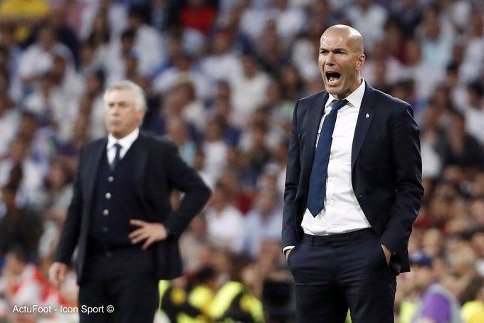 Selon AS, Zinédine Zidane sera viré en fin de saison si le Real Madrid ne gagne ni la Liga, ni la Ligue des Champions.
