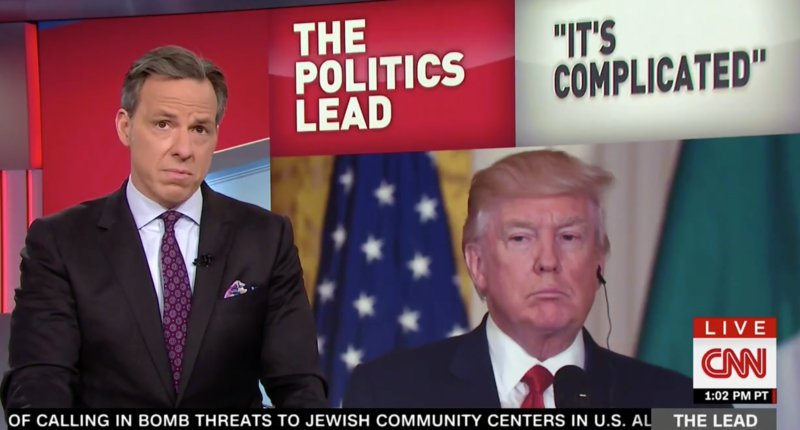 Tapper ridicules Trump for 'cramming like a college kid during finals week' as 100-day deadline looms https://t.co/iymCj4mq7a