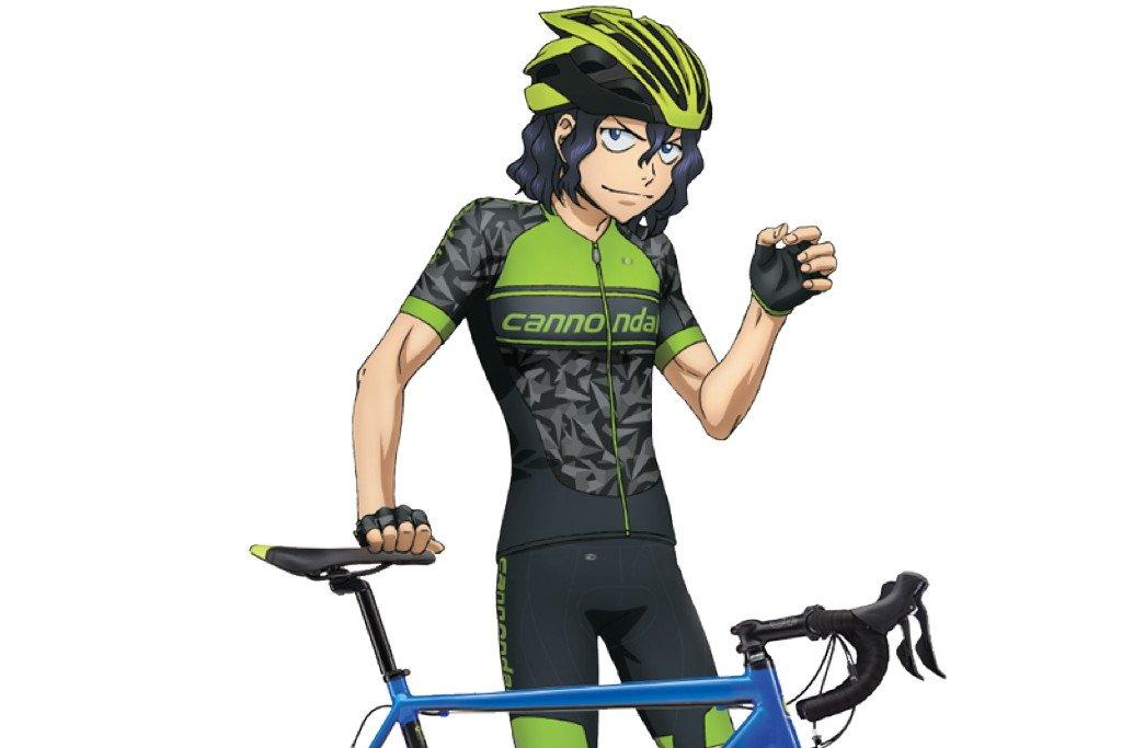 アメリカのバイクブランド「キャノンデール」がTVアニメ「弱虫ペダル NEW GENERATION」とコラボ。原作の中でキ