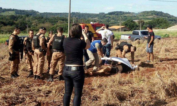 Três suspeitos de roubar transportadora no Paraguai são mortos. https://t.co/TGGhWO6Jar