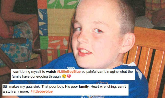 #LittleBoyBlue Support floods in for Rhys Jones' family as viewers find ITV drama 'too hard to watch'  https://t.co/0SJW59fGZN