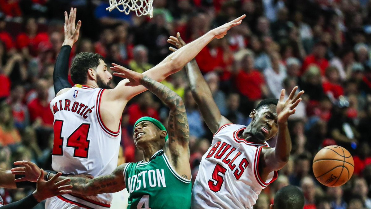 The #Bulls will switch up how they guard the #Celtics' Isaiah Thomas https://t.co/dysaRSf2mv