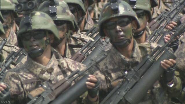 【ニュース特設:緊迫 北朝鮮情勢】北朝鮮は、きょう朝鮮人民軍創設85年の節目を迎えました。アメリカのトランプ政権が北朝鮮への武力行使も排除しない姿勢を示すなか、北朝鮮が新たな行動に出るのか緊張が高まっています。 #nhk_news  https://t.co/BkcgJOqa9M