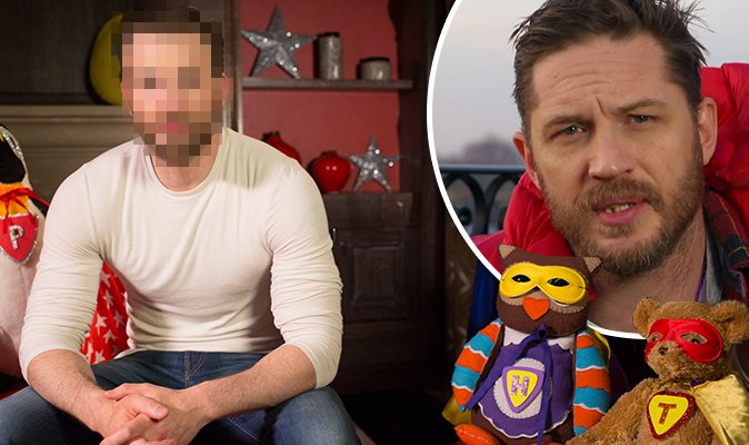 You'll never guess which hansome SUPERHERO is doing a Tom Hardy on CBeebies Bedtime Stories... https://t.co/GsWnKaCrfN
