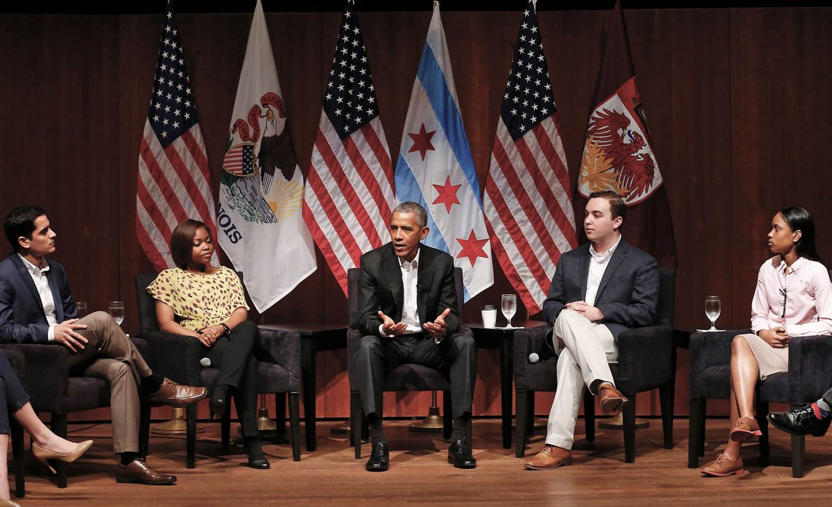 Pres. Obama returns to the public spotlight in policy forum at Univ. of Chicago on Monday.  @mitchellreports reports now on @NBCNightlyNews.