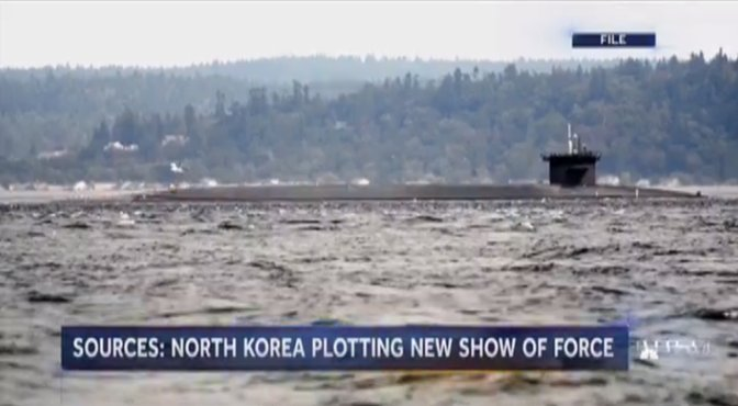 The latest on the North Korea crisis.  @KellyCobiella reports LIVE now from South Korea on @NBCNightlyNews.