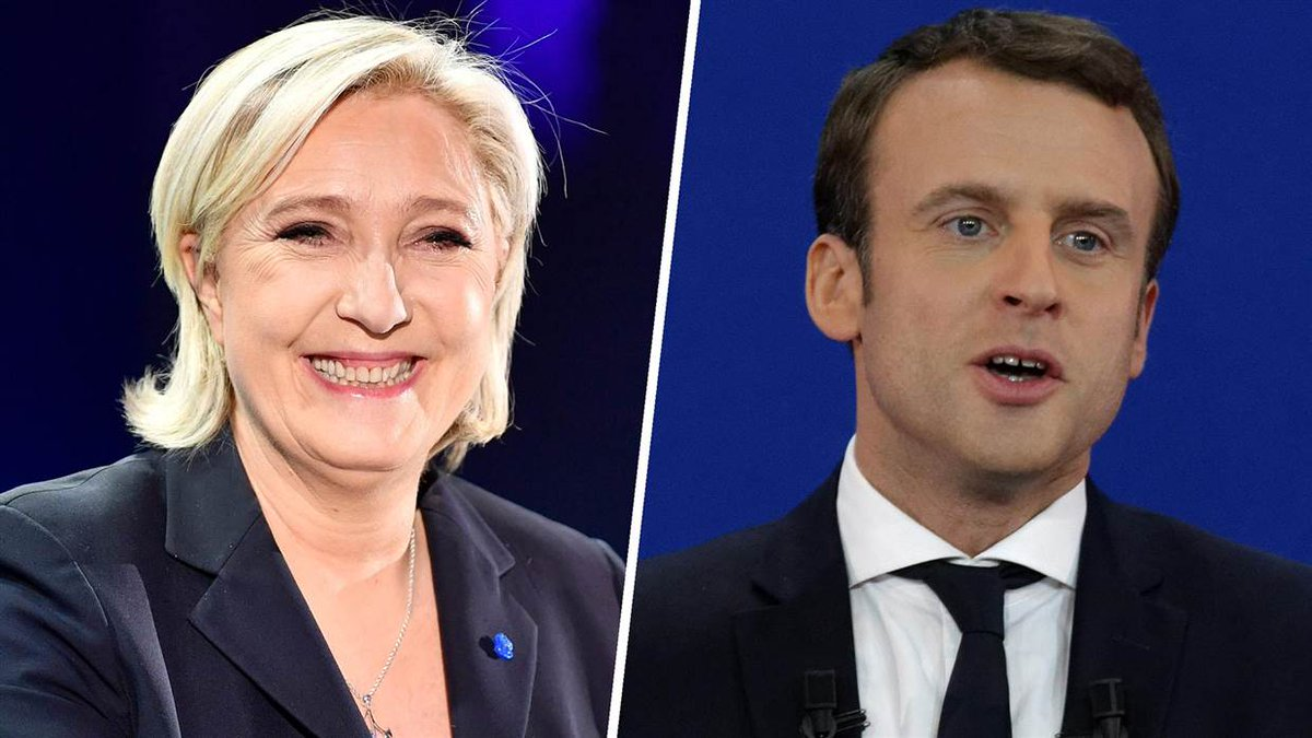 Le Pen vs. Macron: French presidential election headed for a runoff.  @RichardEngel reports from France now on @NBCNightlyNews.