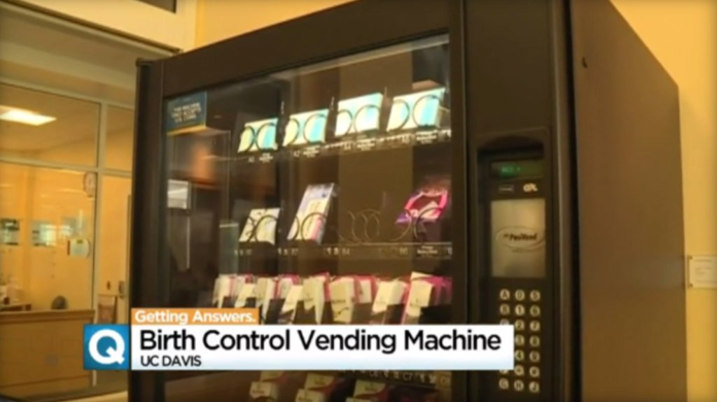 California university dispenses morning-after pill in vending machine: