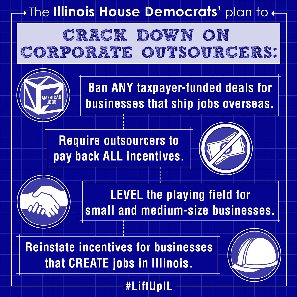 test Twitter Media - House Dems are fighting to crack down on corporate outsourcers. RT if you agree that we should only invest in IL job creators. #LiftUpIL https://t.co/PlqsETzszN