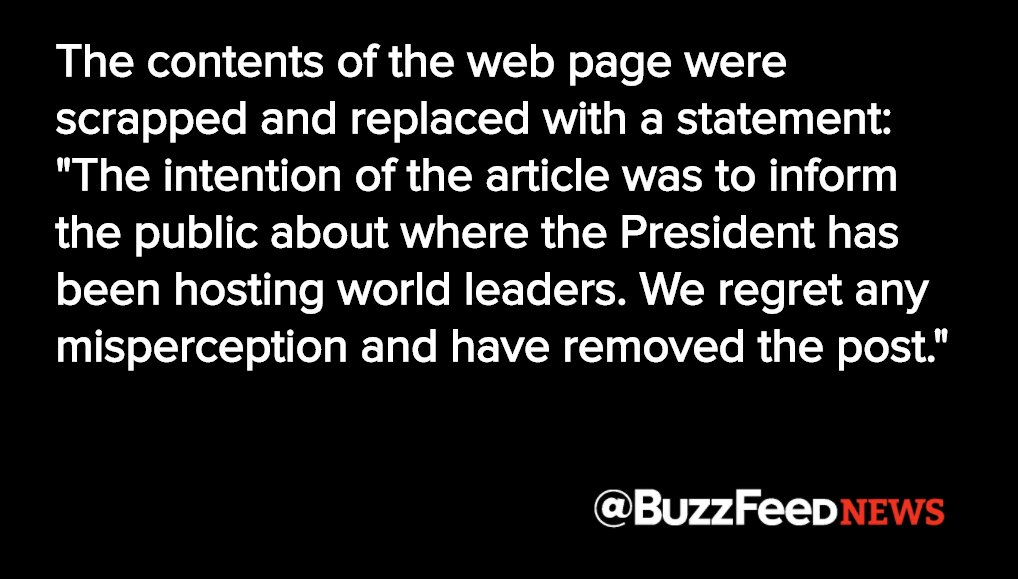 The Trump administration just deleted a State Department webpage promoting the president's private Mar-a-Lago club https://t.co/FcvEALa4iB