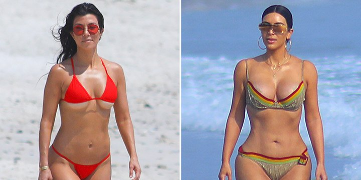 Kim Kardashian's vintage Dior bikini will leave your jaw on the shoreline via @peoplestyle