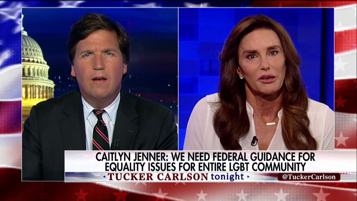 .@Caitlyn_Jenner: 'We need to protect all Americans, including my [LGBT] community.' #Tucker