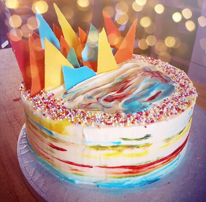 Can\t have a birthday without cake! Albeit a virtual Happy Birthday