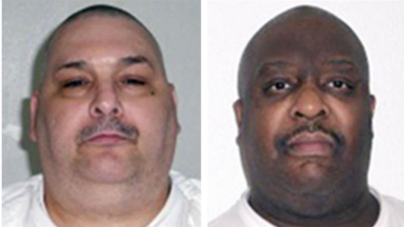 An Arkansas judge has temporarily halted the second of two executions scheduled for Monday