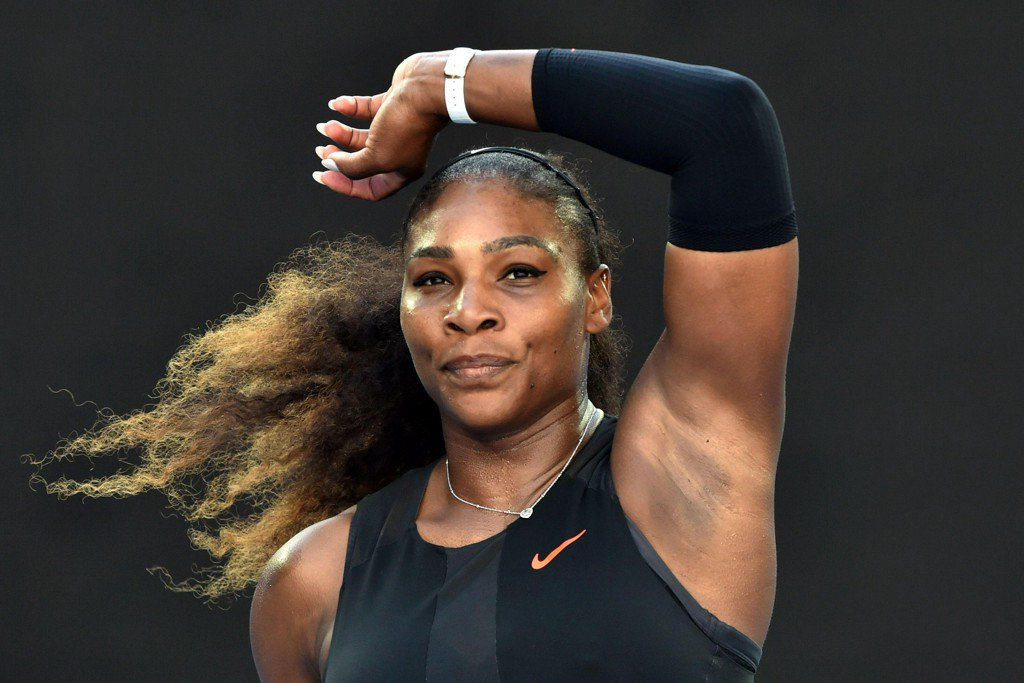Serena Williams  pregnant with ilie nastase
