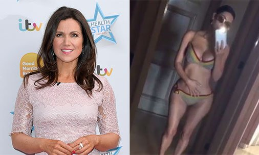 .@susannareid100 defends Kim Kardashian's untouched bikini pictures: