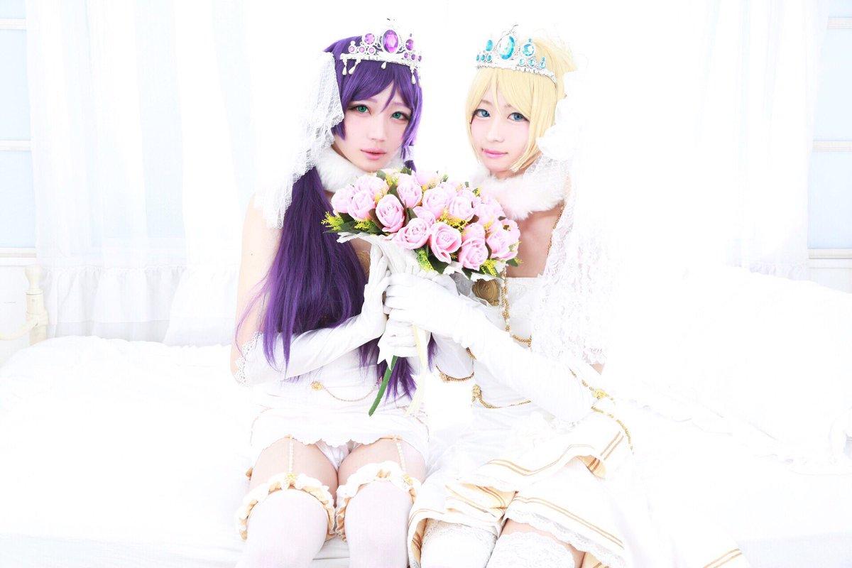 ………………Love Live  💎Nozomi & Eli 💍・*:.。 Wedding ゚・*:.。Nozo