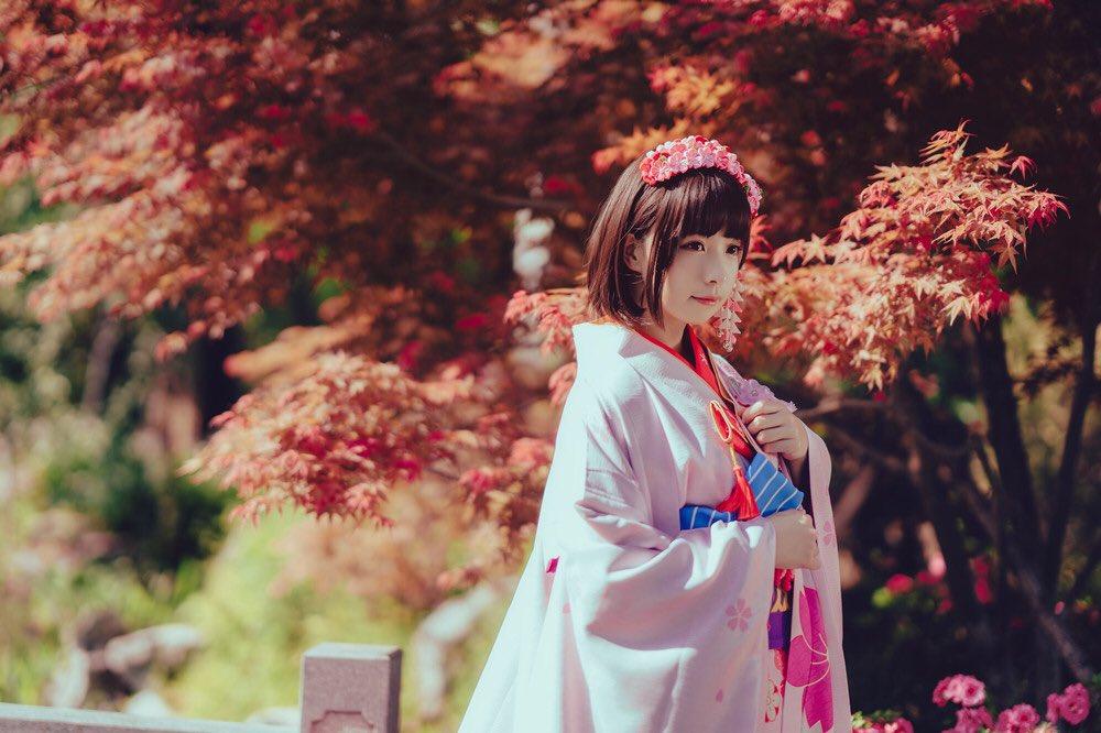 加藤惠 和服Ver. コスプレPhoto  by  #加藤恵 #冴えない彼女の育てかた