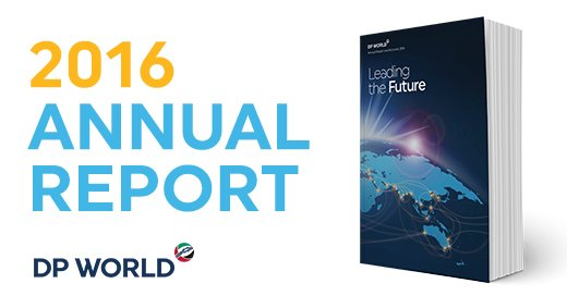 Proud to have launched our 2016 #DPWorld Annual Report. To find out more about us https://t.co/bt5N2PytFr https://t.co/ThPVpiFand