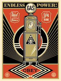 test Twitter Media - Image by Shepard Fairey @OBEYGIANT #peakoil https://t.co/nYbIlfYtLG