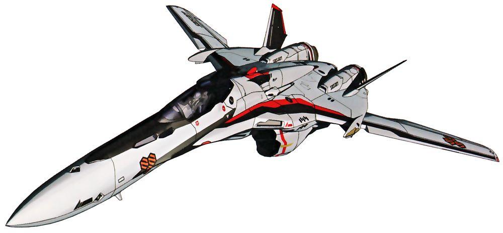 マクロスF VF-25って単体でも格好いいけどVF-1の現代風リメイクとしても良く出来てるよね  #macross