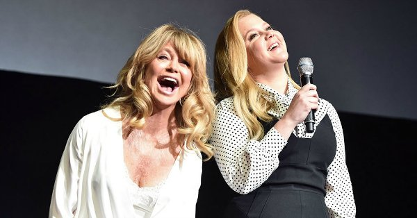 About that time Amy Schumer invited herself to Goldie Hawn's Aspen Christmas getaway.