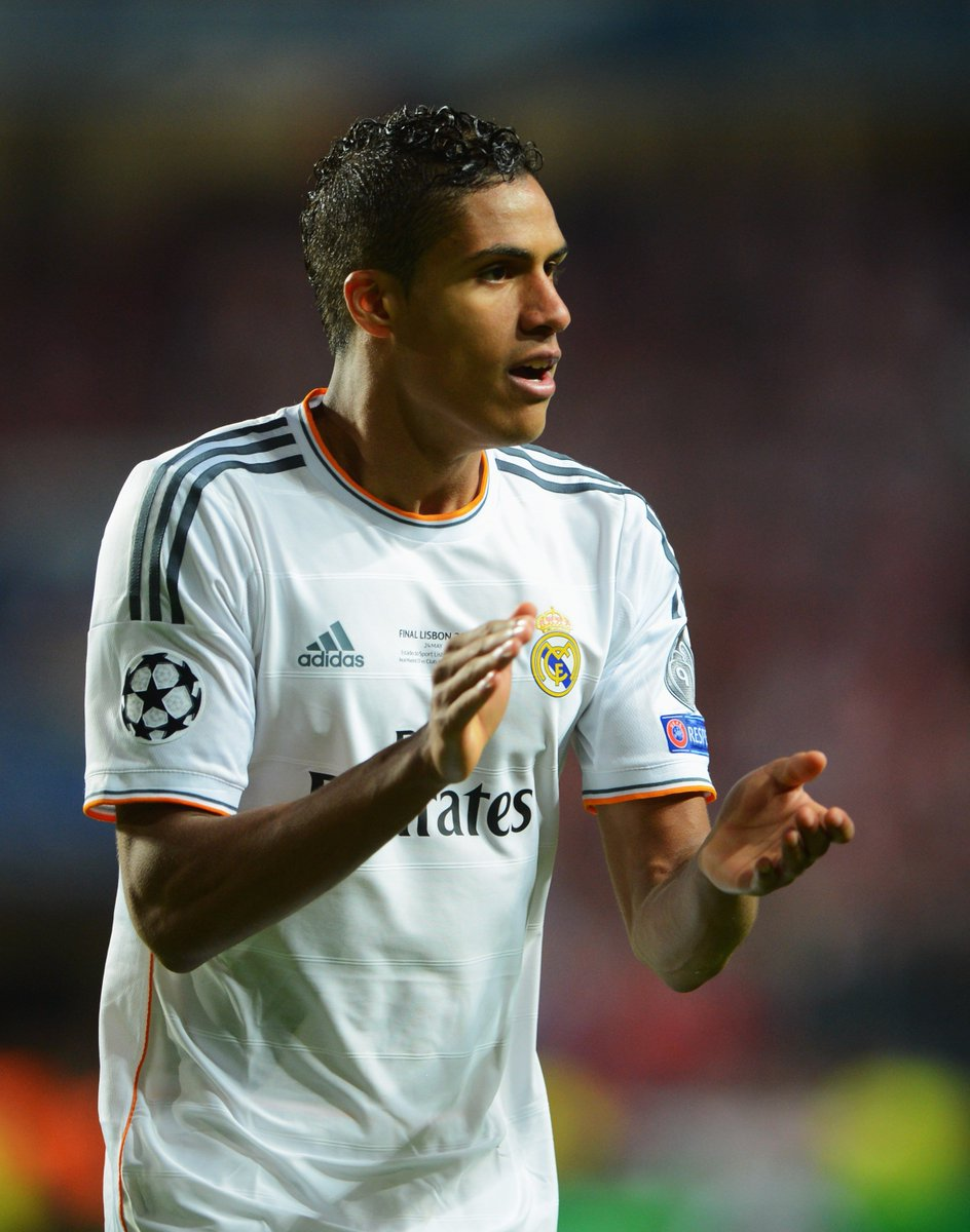 Wish two time ucl winner & real madrid defender rapha l varane a