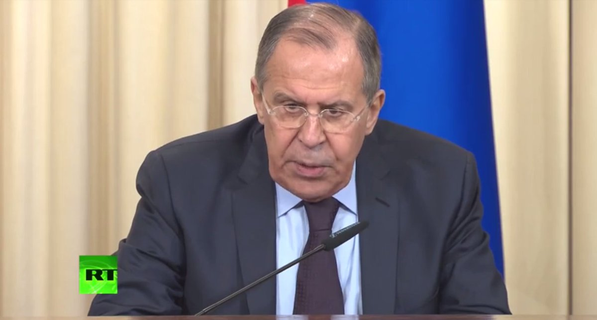 LIVE: Russian FM Lavrov and OSCE head Zannier hold presser after discussing Ukraine conflict