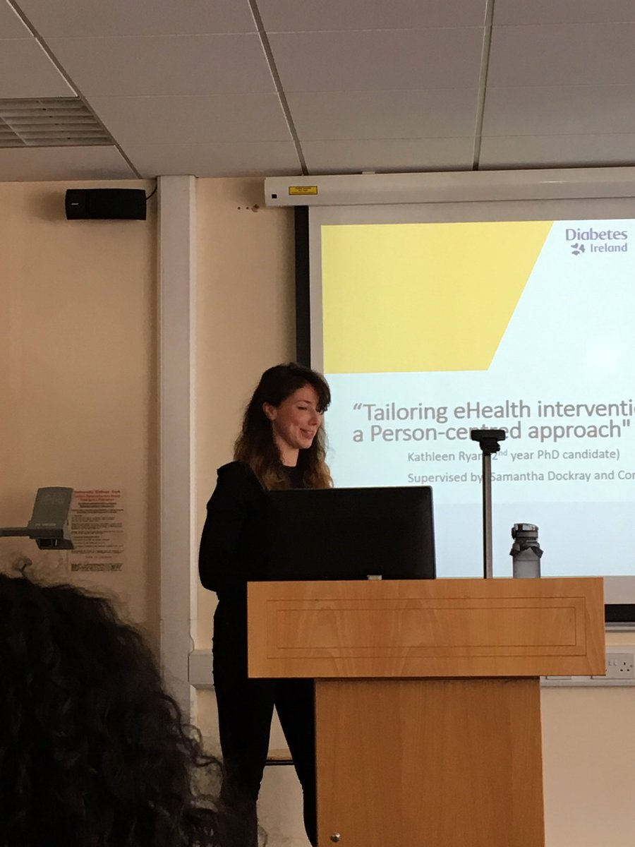 test Twitter Media - .@kathleen_ryan33 now discussing her research on tailoring in ehealth interventions. https://t.co/2mUEHZ5gV2