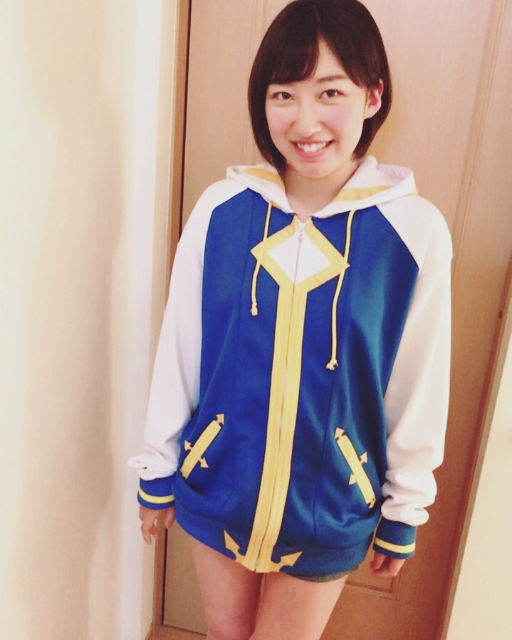 ノエルちゃんパーカー届きました💙可愛い〜!!嬉しい〜!!#BLAZBLUE