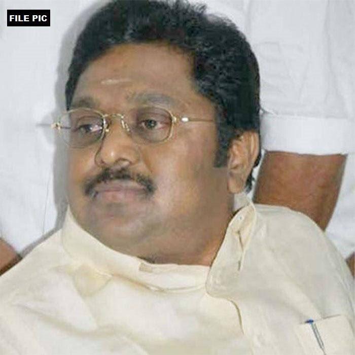 AIADMK 'two leaves' symbol bribery case TTV Dinakaran arrested