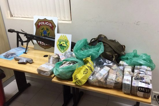 Eight people arrested in Paraguay heist: Brazil