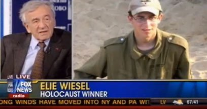 Trump currently talking about Eli Wiesel ... and it reminded of the time Fox News labelled him 'Holocaust Winner' https://t.co/qma6cg7iKY