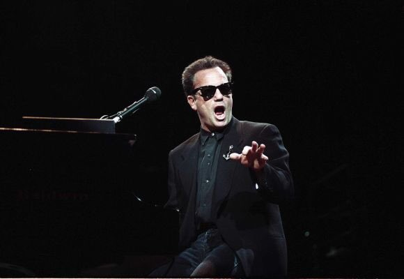 Happy birthday to We don\t have any pics together, so here is a pic of Billy Joel instead