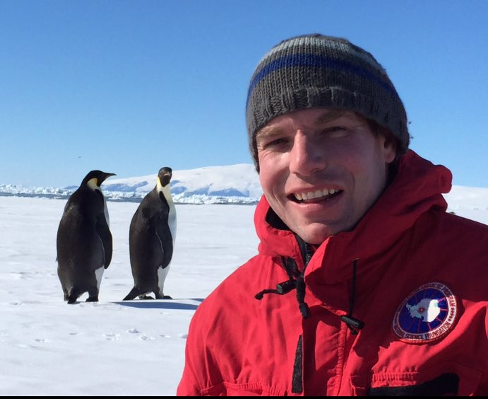 When it's #WorldPenguinDay, of course you share your Antarctic selfie! https://t.co/a06sR748di